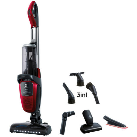 aspirateur balai rechargeable 36v rouge - pf91anima - electrolux