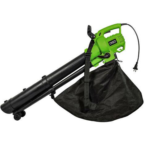 Aspirateur broyeur souffleur de jardin OXEO + sac de 45 l 53cm