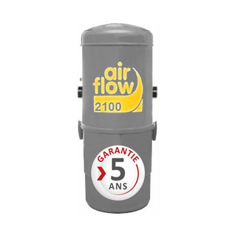 Aspirateur central AIRFLOW 2100 garantie 2 ans (jusqu'à 400 m²)