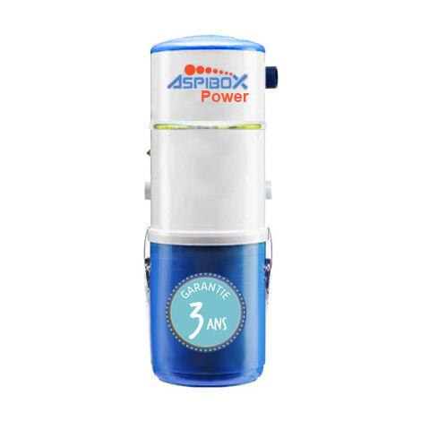 Aspirateur central hybride ASPIBOX 550 GARANTIE 5 ANS (jusqu'à 500 m²)