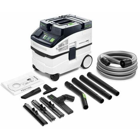 Aspirateur Cleantec CT 15 E Set FESTOOL - 8 accessoires - 575988