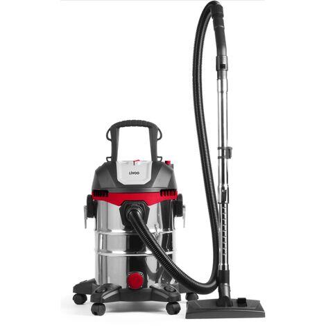 aspirateur cuve eau et poussière 23l 1400w - doh124 - livoo