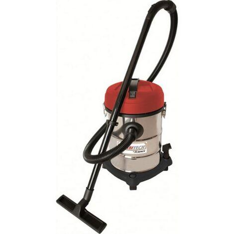 aspirateur cuve eau et poussière 25l 1200w - prasp25l - ribitech