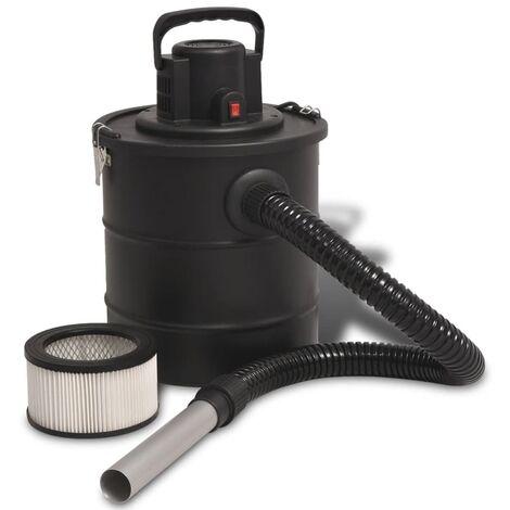 Aspirateur de cendre 1200 W 20 L Noir