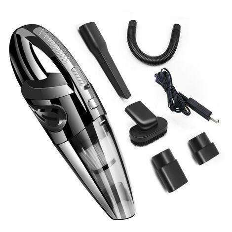 Aspirateur de voiture depoussiereur aspirateur amain sans fil acharge rapide portable cuisine domestique voiture lavage sec et humide