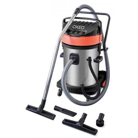 Aspirateur eau et poussière 3000W - 70 litres - tri moteurs
