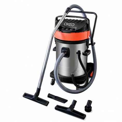 Aspirateur eau et poussière 3000W – 70 litres – tri moteurs