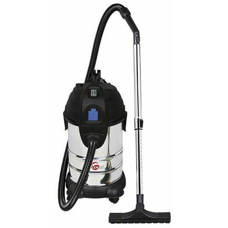 Aspirateur eau et poussière INOX 30L 1400W