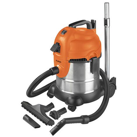 Aspirateur eau et poussières 20L prise synchronisée et décolmatage - 230 V 1400 W - Force 1420S wet-dry - 161328 - Eurom