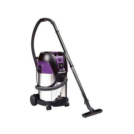 Aspirateur eau et poussières à décolmatage 1250 w 30 l