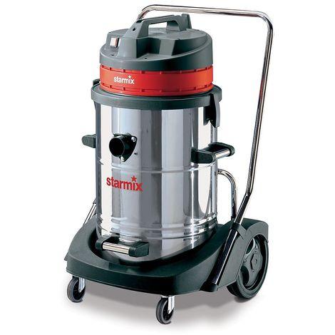 Aspirateur eau et poussières - aspirateur forte puissance - 2400 Watts, volume cuve 78 l