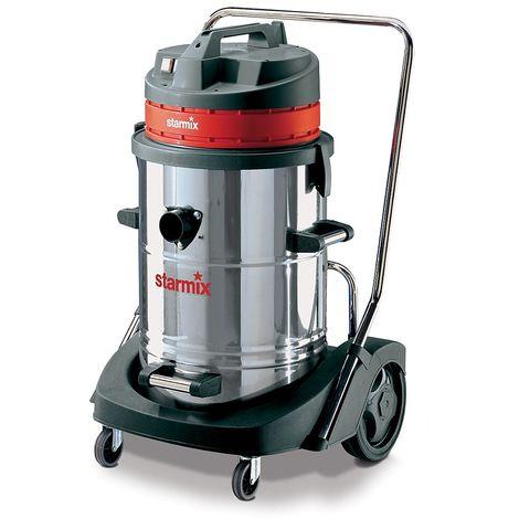 Aspirateur eau et poussières - aspirateur forte puissance - 3600 Watt, capacité conteneur 78 l