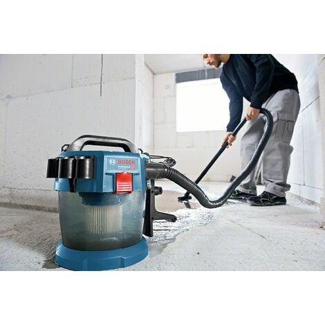 Aspirateur eau et poussières BOSCH GAS 18V-10L solo + Accessoires - 06019C6302