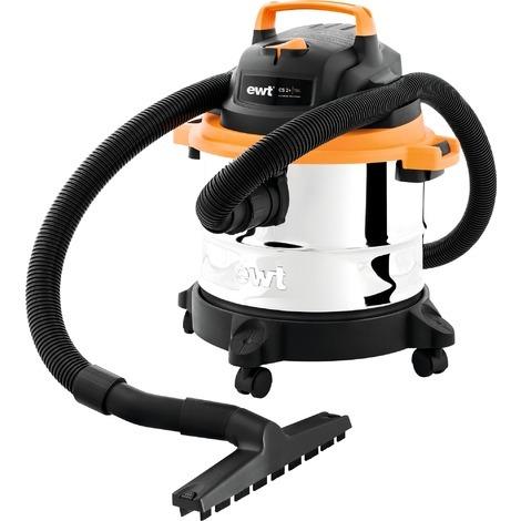 Aspirateur eau et poussières CS2+ EWT - 1250 W - Orange, noir et argent