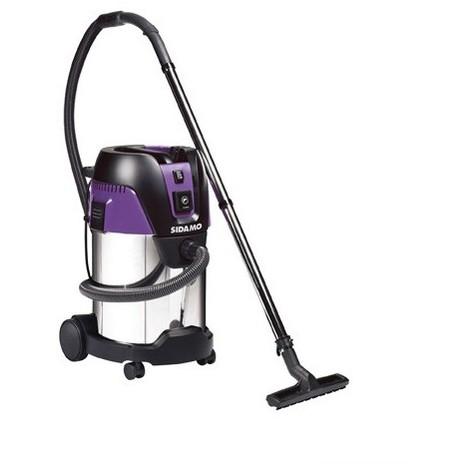 Aspirateur eau et poussières cuve inox DCI 35 S - 30 L - 230V 1250W - 20405022 - Sidamo - -