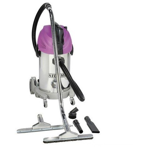 Aspirateur eau et poussières cuve inox JET 30 i Synchro - 35 L - 230V 1450W - 20402042 - Sidamo - -