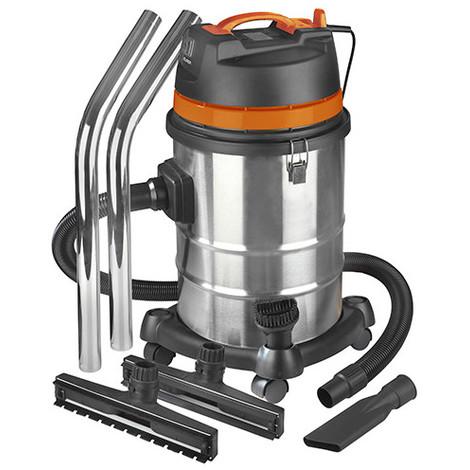 Aspirateur eau et poussières pro INOX 40 litres - 230 V 1200 W - Force 1240 wet-dry - 161311 - Eurom - -