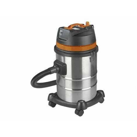 Aspirateur eau et poussières pro INOX 40 litres - 230 V 1200 W - Force 1240 wet-dry - 161311 - Eurom