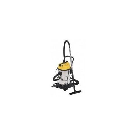 Aspirateur eau / poussiere - 30l boîte - réf :powx324 aspirateur 1200wcuve:30 l - inox