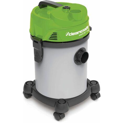 Aspirateur eau/poussière avec fonction de soufflage Cleancraft WETCAT118