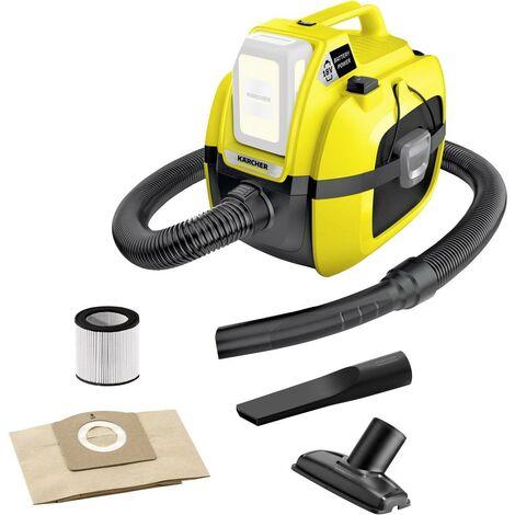 Aspirateur eau & poussières Kärcher WD 1 Compact Battery 1.198-300.0 230 W 7 l sans batterie 1 pc(s)