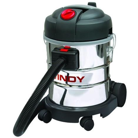 Aspirateur eaux et poussières cuve 20 L INOX LAVOR PRO -S07701