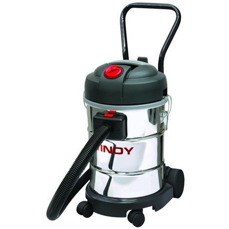 Aspirateur eaux et poussières cuve 30 L INOX LAVOR PRO -S07702