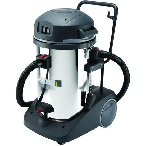 Aspirateur eaux et poussières cuve INOX basculante 3600W INOX 3 MOTEURS LAVOR PRO