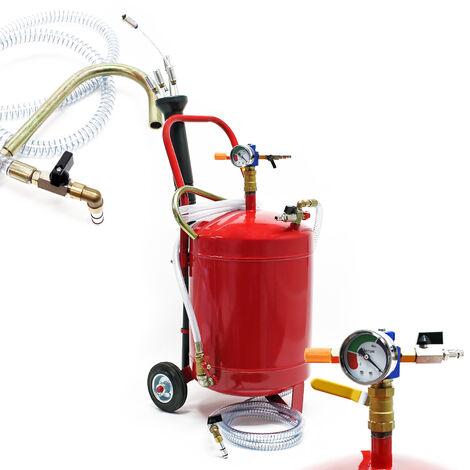 Aspirateur Extracteur d'huiles usées pneumatiques Réservoir de 22,7l pour récupération et vidange