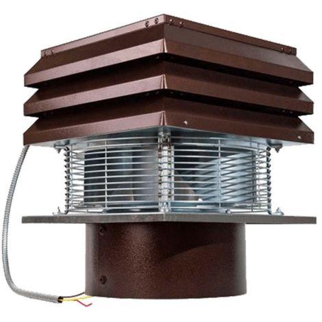 Aspirateur Pour Conduit Rond, Extracteur Ventilateur D'aspiration Électrique De Fumée Pour Cheminèe Modèle Base Gemi Elettronica