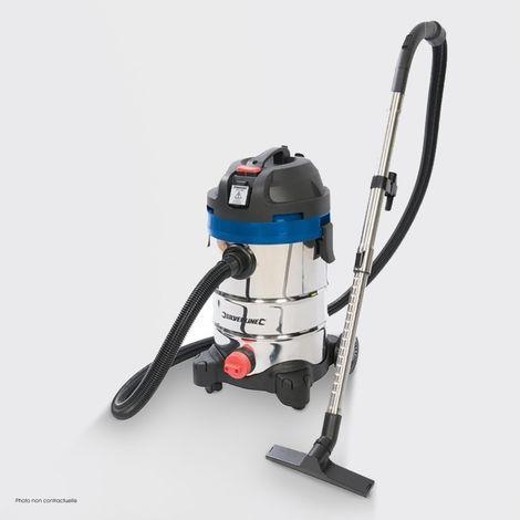 Aspirateur poussière & eau Silverline - Aspirateur 1250W 575803 - Silverline