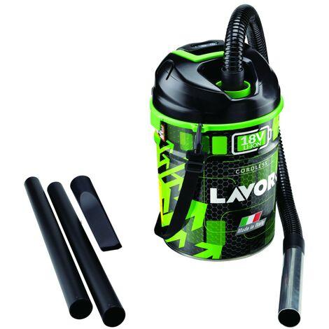 Aspirateur sans fil 3EN1 LAVOR 150W Batterie LITHIUM18V rechargeable Cuve 12 L Aspire poussières cendres + Fonction souffleur