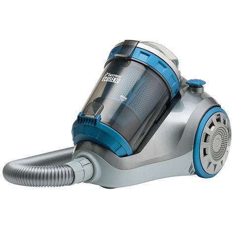 aspirateur sans sac 1200w gris/bleu - abl900sbe - bestron
