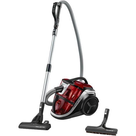 aspirateur sans sac 68db rouge/noir - ro8343ea - rowenta
