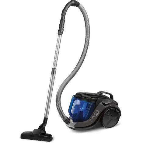 "main image of ""aspirateur sans sac 72db noir/bleu - ro6940ea - rowenta"""