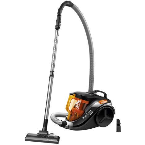 aspirateur sans sac 79db noir/orange - mo3723pa - moulinex