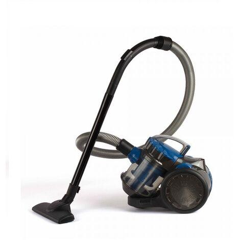 aspirateur sans sac 80db bleu - doh105b - livoo