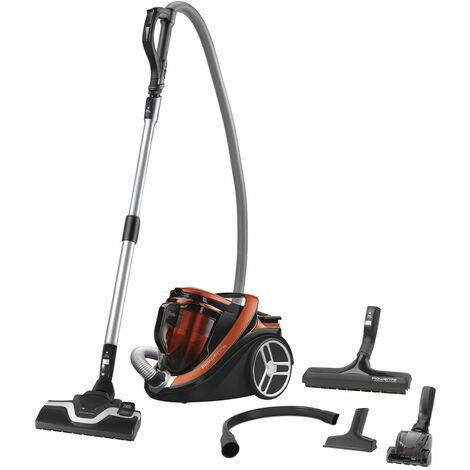 aspirateur sans sac a+aaa 67db orange - ro7673ea - rowenta