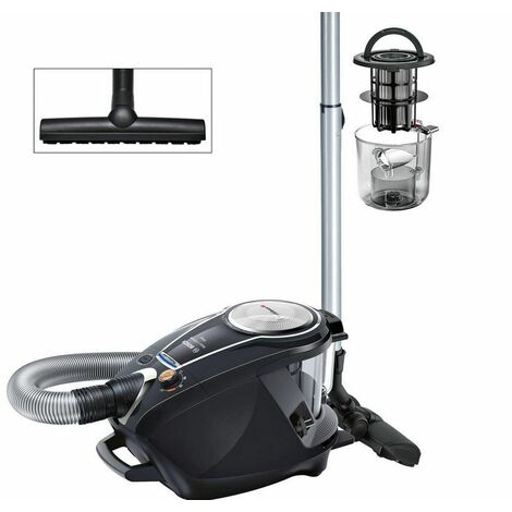 aspirateur sans sac aaba 64db noir - bgs7ms64 - bosch