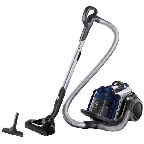 aspirateur sans sac aaba 78db bleu/métal - euc96dbm - electrolux