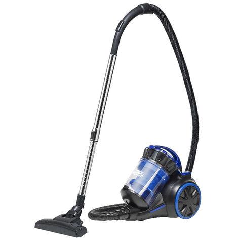 aspirateur sans sac adaa 75db bleu - amc1000b - bestron