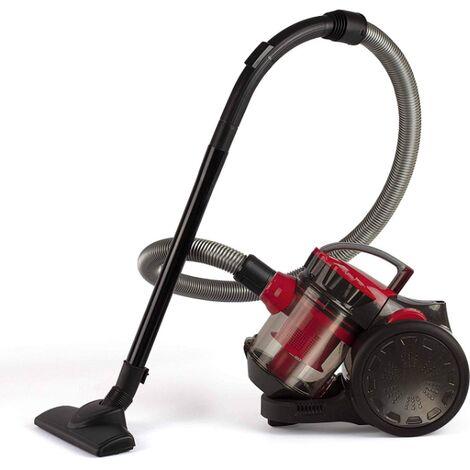 aspirateur sans sac cfbe 78db noir rouge doh105r. Black Bedroom Furniture Sets. Home Design Ideas