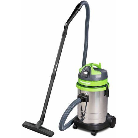 Aspirateur sans sac industriel 2300W, 33L (eau et poussière) Cleancraft WETCAT 133 IR