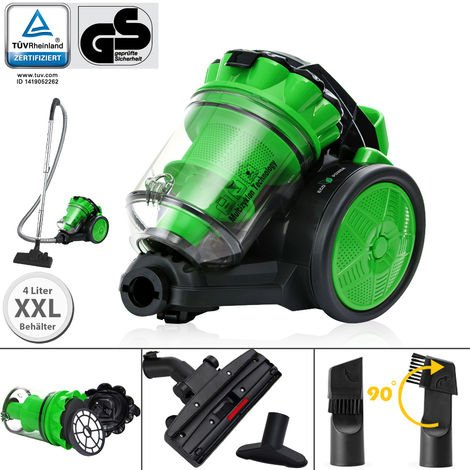 Aspirateur sans sac - multi cyclone vert max 900 W - Eco power