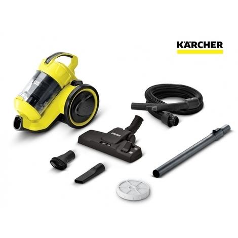 Aspirateur sans sac VC3 jaune 700W Karcher