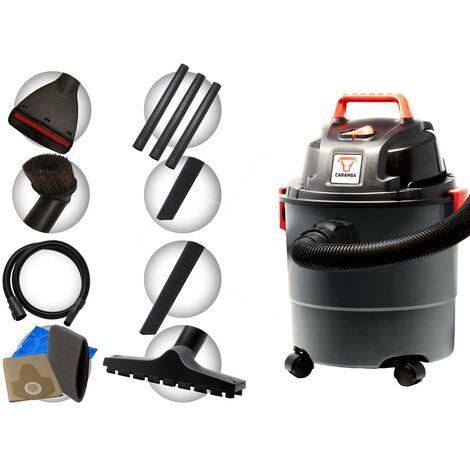Aspirateur sec / humide CARAMBA AUTO 5.0 - souffleur avec 5 buses - parfaitement adapté pour le nettoyage intérieur des voitures, les sièges rembourrés, les tapis de sol, le coffre ainsi que pour le séchage et le soufflage