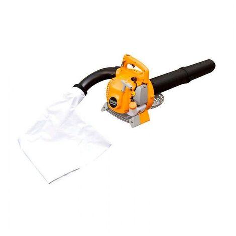 Aspirateur souffleur broyeur feuilles 3 en 1 27,2cm3 480 m3/h Dunsch DU51272BV3 - Orange