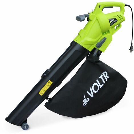Aspirateur, souffleur et broyeur à feuilles 3000W VOLTR - Outil électrique avec variateur de puissance