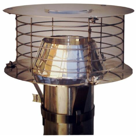 "main image of ""Aspirateur statique adaptable VARINOX Acier inoxydable diametre : 167 / 200 ref. 403003"""