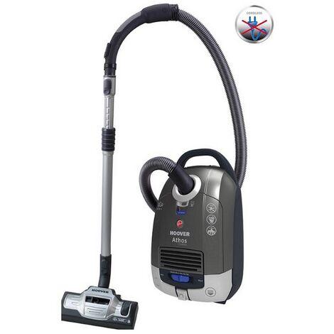 aspirateur traîneau rechargeable 18v titanium/bleu - atc18li - hoover